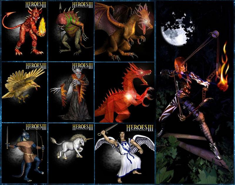 картинки герои меча и магии 3 рог бездны